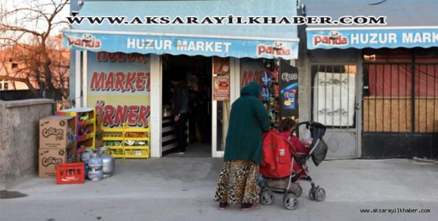Aksaray'da Hayırseverler 35 Bin Liralık Bakkal Borcunu Ödedi