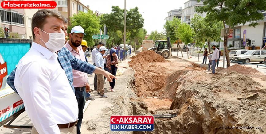 Başkan Dinçer, Alt Yapı Çalışmalarını İnceledi