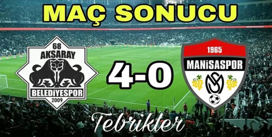 EVİMİZDE MANİSASPOR'U 4-0 YENDİK