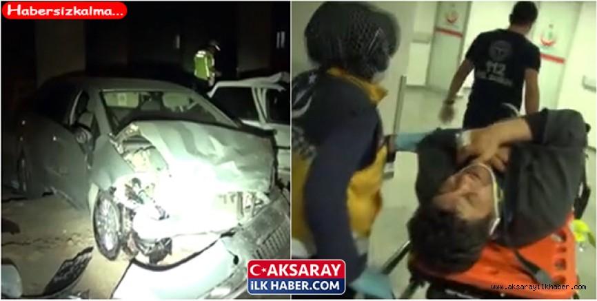 Polis Aracı Otomobil İle Çarpıştı 1 i ağır 5 yaralı